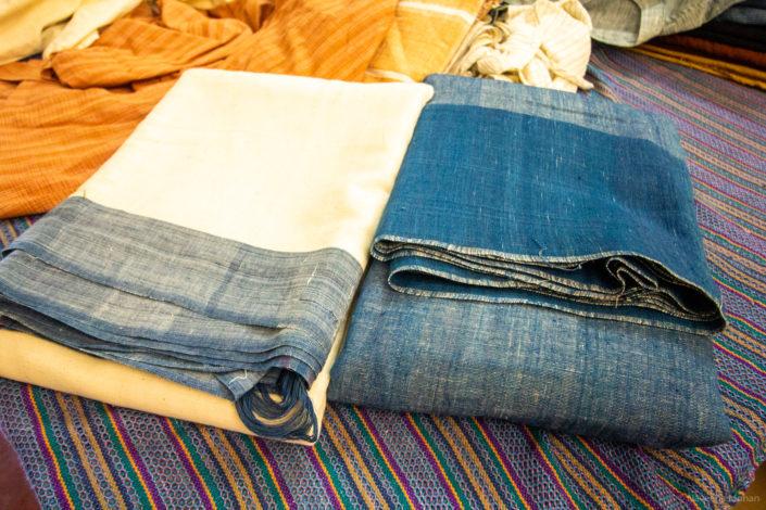 Stock at the retail unit - sarees