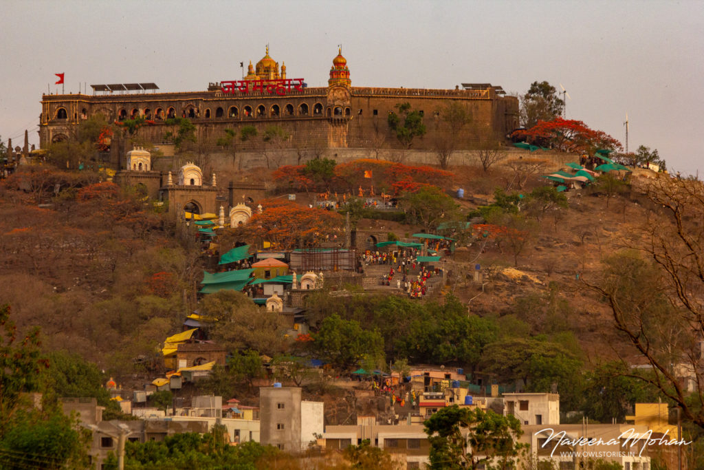Evening view of Khandoba temple