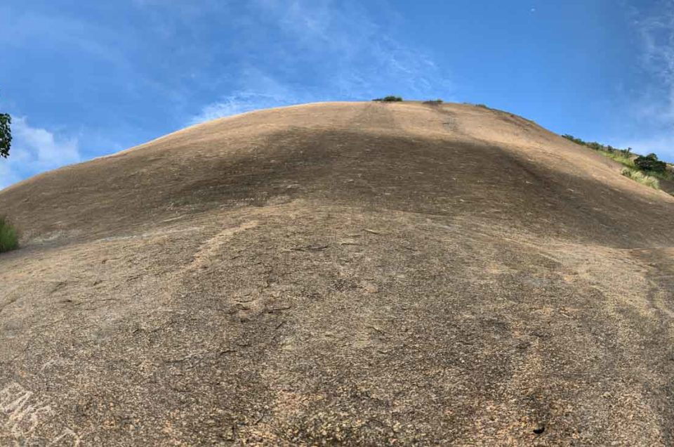 Savandurga, a challenging trek